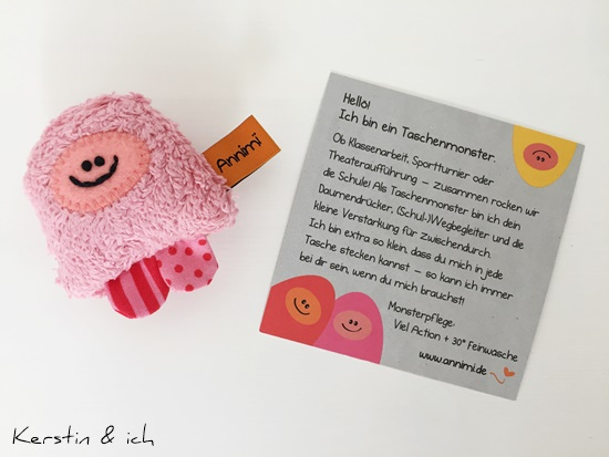 Taschenmonster Einschulung Geschenke kreativ