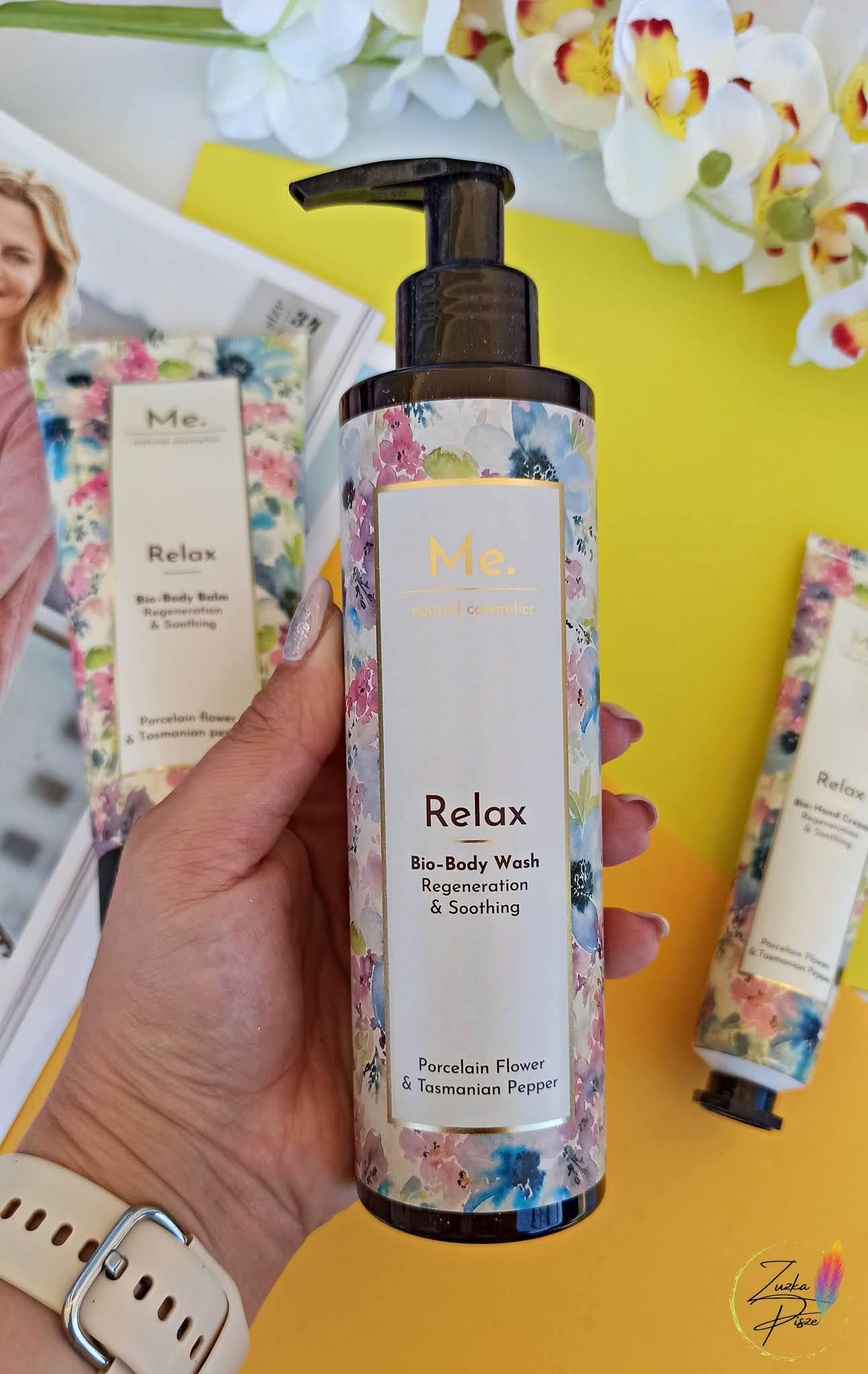 Me. Rytuał Relax Porcelain flower & Tasmanian pepper Cosmetics Box Set