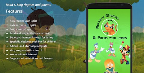 Nursery Rhymes and Poems with Lyrics