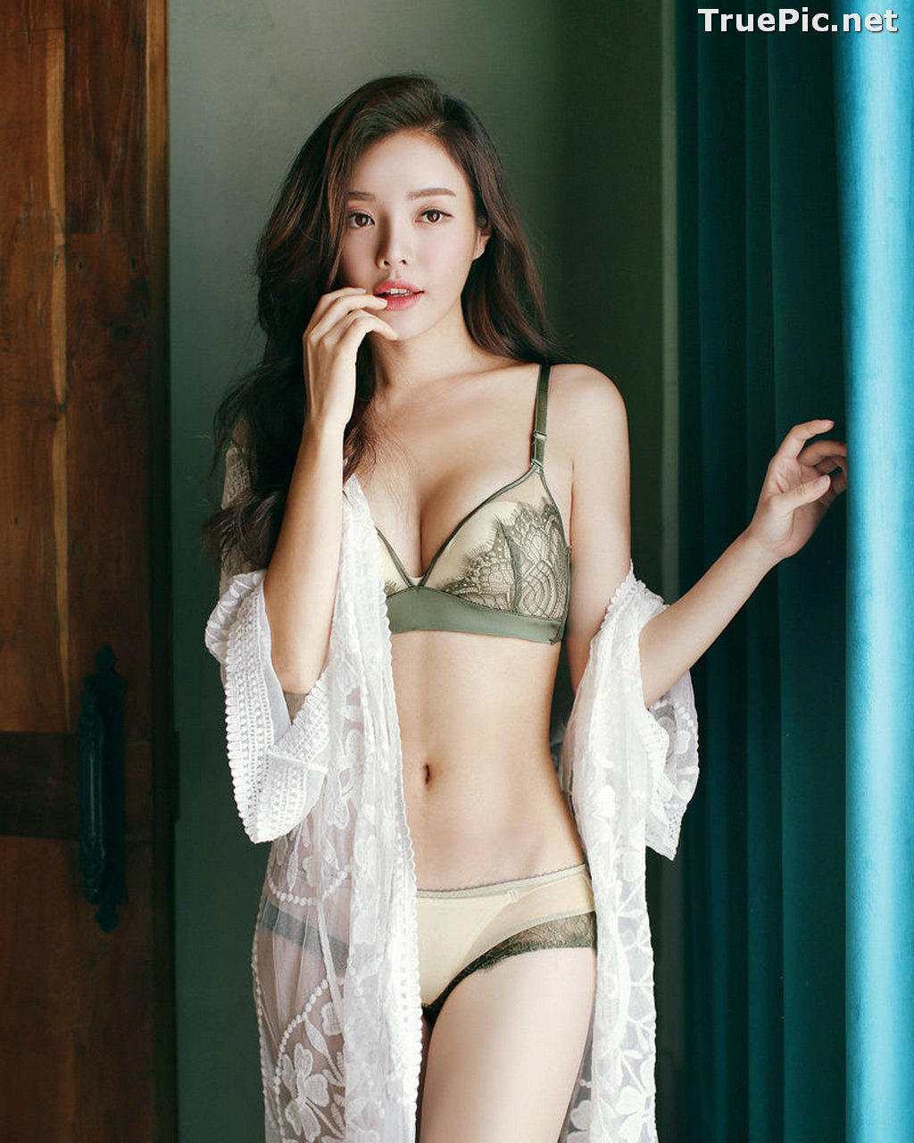 Image Korean Fashion Model – Jin Hee – Sexy Lingerie Collection #2 - TruePic.net - Picture-6
