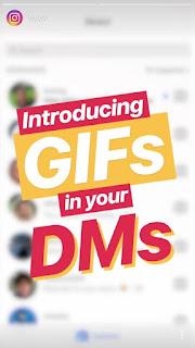 Begini Caranya Kirim Stiker GIF di Direct Message Instagram