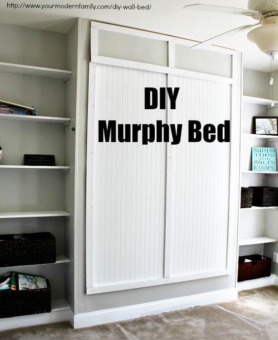 Top HOME & GARDEN: 27 idées pour installer un lit escamotable chez soi UQ78