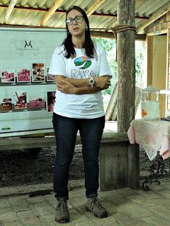 Karen Explica sobre A Certificação da Cozinha de Orgânicos na Granja Santantonio