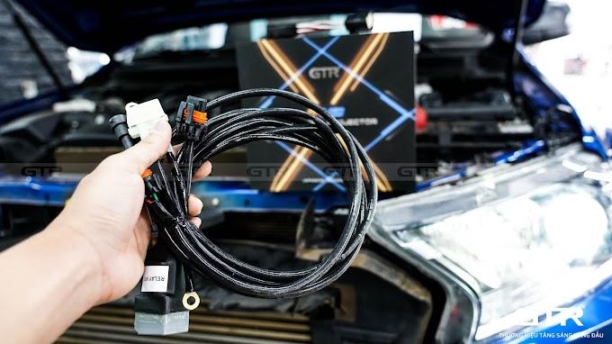 Ông vua bán tải Ranger Raptor nâng cấp bi G-LED X siêu sáng tại Auto365
