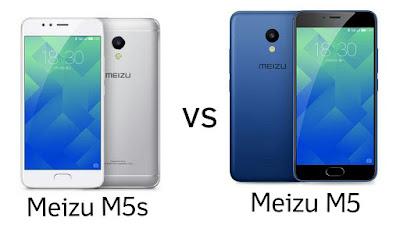 Meizu M5s vs Meizu M5