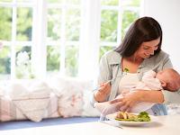 Apa yang harus dimakan saat sedang menyusui?