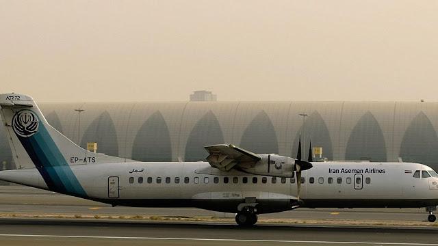 Aseman Airlines flight to Yasuj