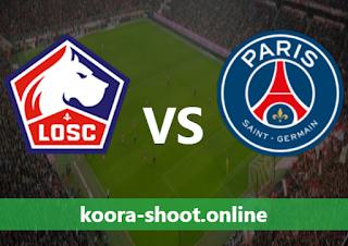 بث مباشر مباراة باريس سان جيرمان ونادي ليل اليوم بتاريخ 03/04/2021 الدوري الفرنسي