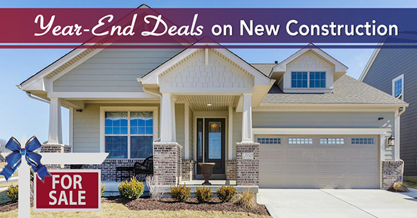 Year-End Deals on New Construction