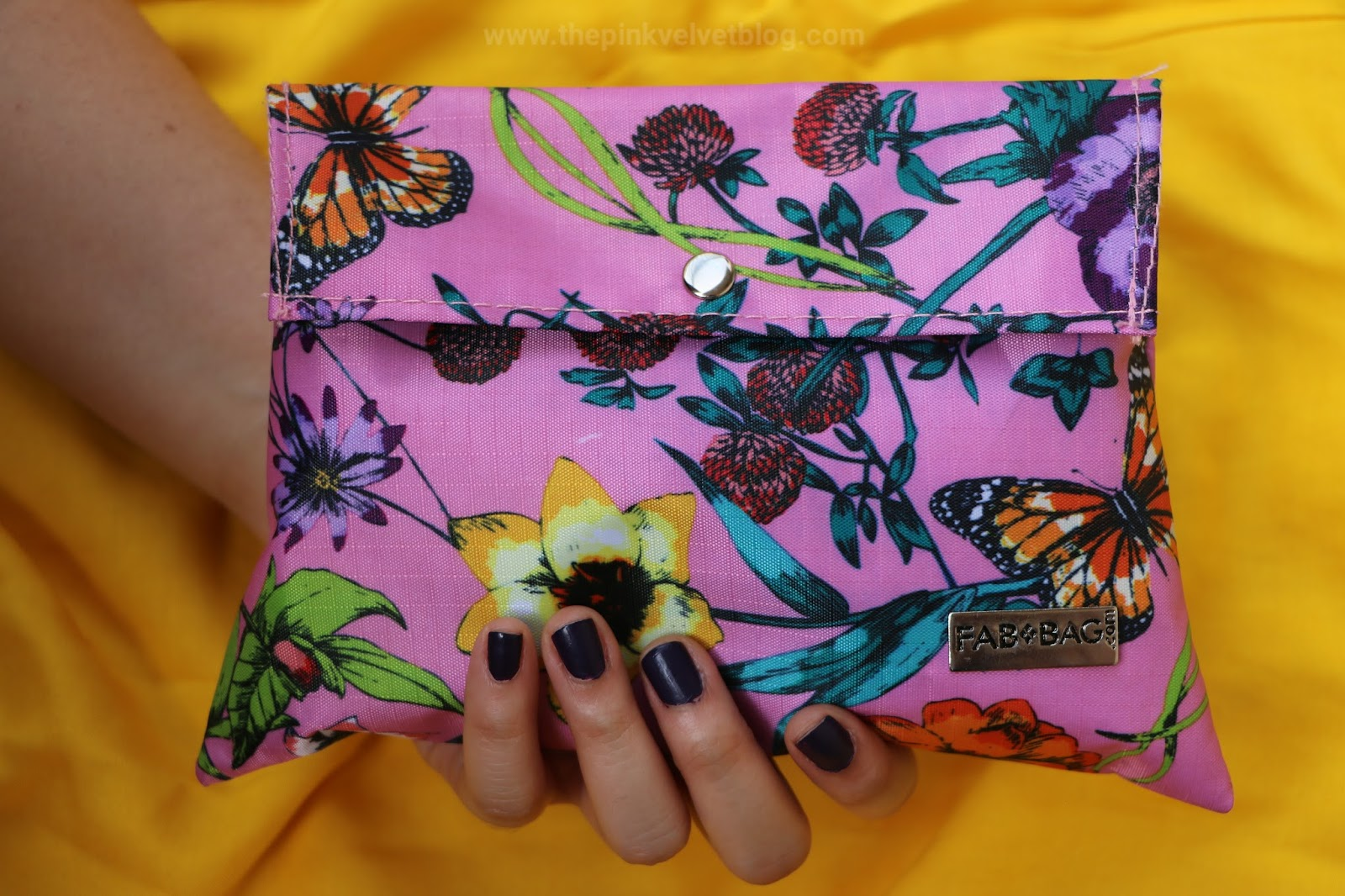 "April 2018 ""The Spring Kissed"" Fab Bag - Unboxing and Review - The Pink Velvet Blog - Niharika Verma"
