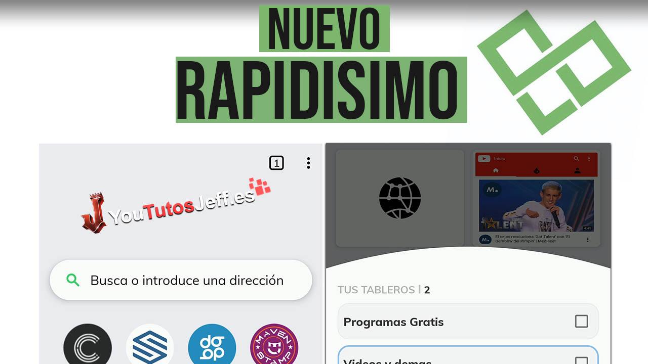Nuevo Navegador Rápido para Android - Descargar Metalyfe Gratis