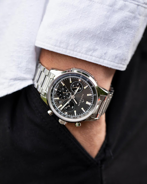 Norqain Freedom 60 Chrono Anthracite Dial