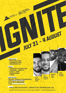 "WAW!!! Hotr Jos Presents Millennials Camp Meeting 2019 tagged ""IGNITE"""