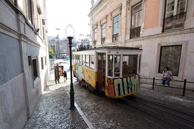 Elevador da Glòria-Lisbona