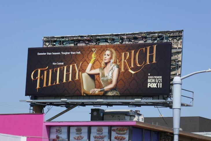 Filthy Rich season 1 billboard