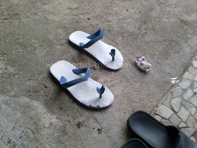 Inspirasi Kreatifitas dari Sandal Jepit
