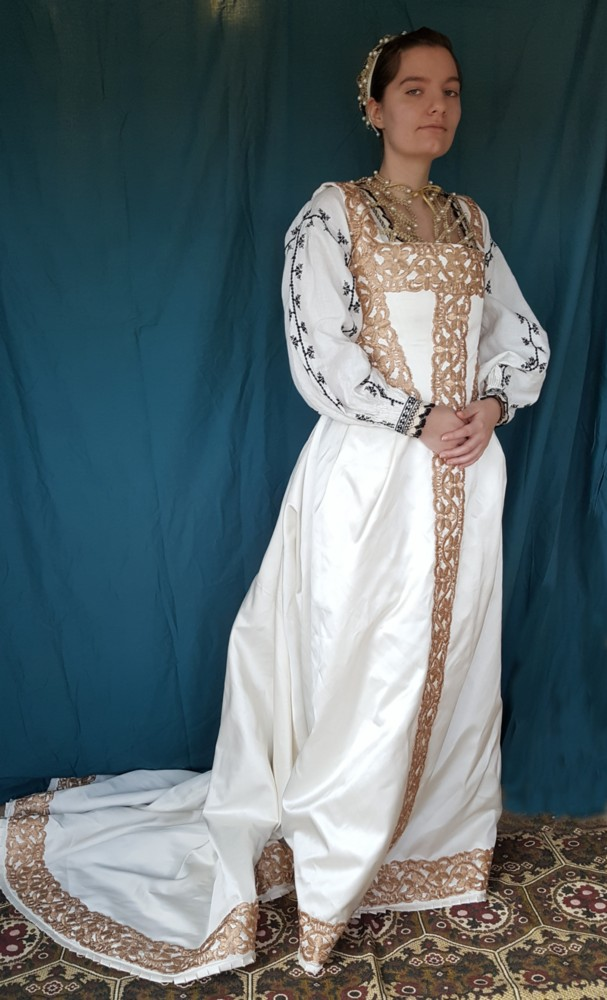 Eva\'s historical costuming blog: A sottana and camicia based on ...