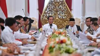 Presiden Jokowi Pimpin Sidang Kabinet Indonesia Maju