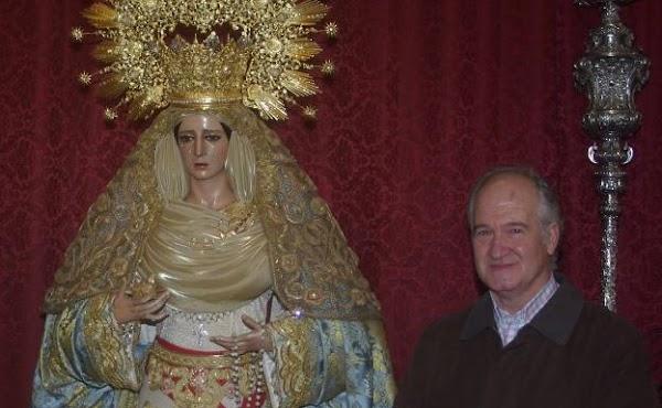 El imaginero Luis Álvarez Duarte, ingresado por un ictus