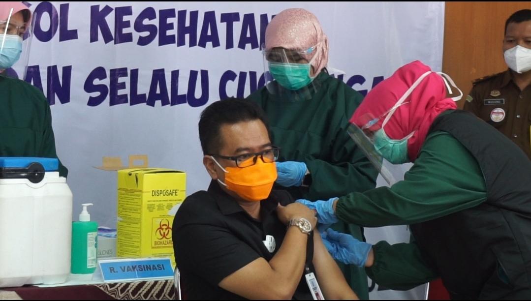 Forkopimda Kabupaten Purbalingga Canangkan Vaksinisasi Covid-19
