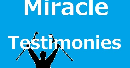 For Jesus The Amen: Miracle Testimonies