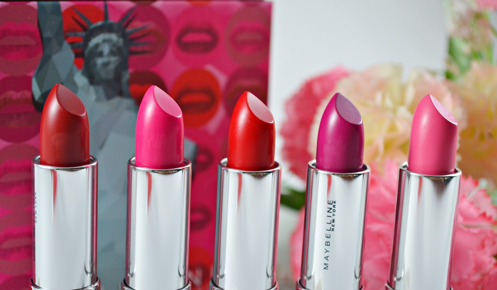 Maybelline Vivid Matte Lipsticks Shades 5 6 7 8 And 13 All Lipstik Today I Will Now Share My Thoughts On Each Lipstick As Well How It Looks Like When Am Wearing