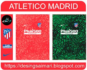 Camiseta Atlético Madrid 2021-2022 (Vector)