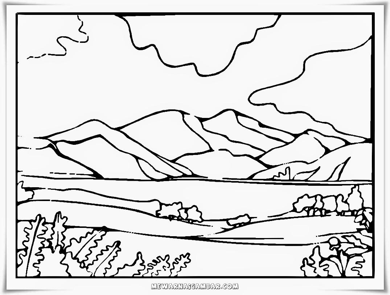Kumpulan Gambar Karikatur Gunung Merapi