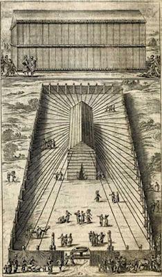 Il tabernacolo originale era una tenda eretta da Mosè