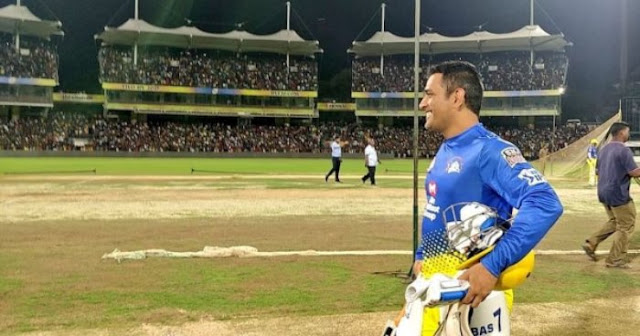 CSK fans go berserk at Chepauk as 'Thala' MS Dhoni pads up for first practice session ahead of VIVOIPL 2020