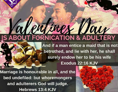 valentines day fornication adultery