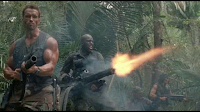 Arnold Schwarznegger - Bill Duke in Predator
