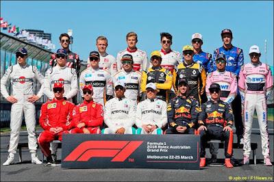 F1 Teams 2018
