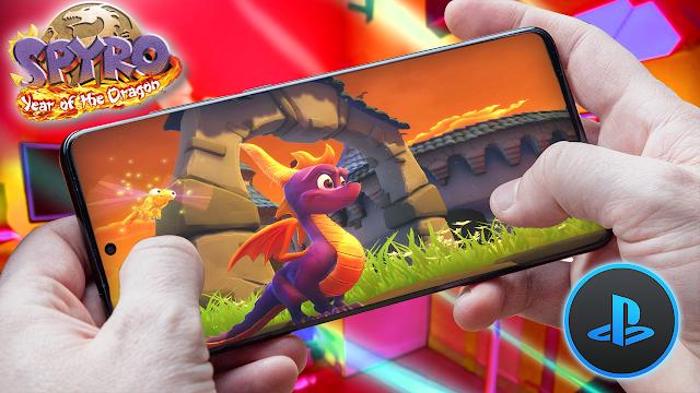 Spyro 3: Year of the Dragon Para Teléfonos Android (ROM PS1)