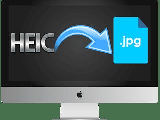 Convertir archivos HEIC a JPG en Mac