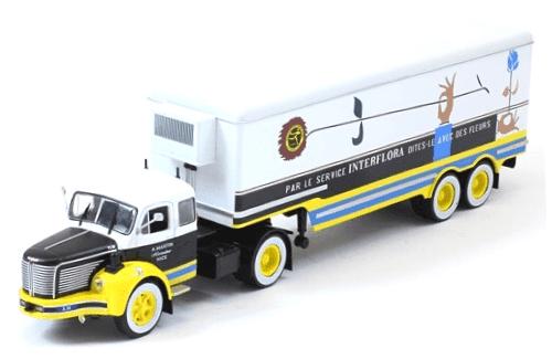 berliet tlr 10 m 1/43 interflora, coleção caminhões articulados altaya, coleção caminhões articulados planeta deagostini, coleção caminhões articulados 1:43