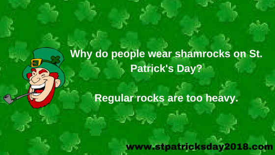 St Patrick's day funny jokes (2018)