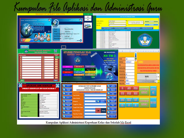 Kumpulan File Aplikasi dan Administrasi Guru Terlengkap