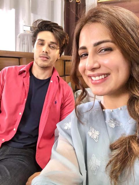 Bandhay Aik Dor Se  Ushna Shah and Ahsan Khan