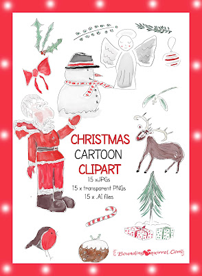 Christmas Cartoon Clipart Image