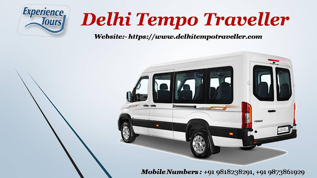 Get Discounted Cost for Tempo Traveller on Rent in Delhi