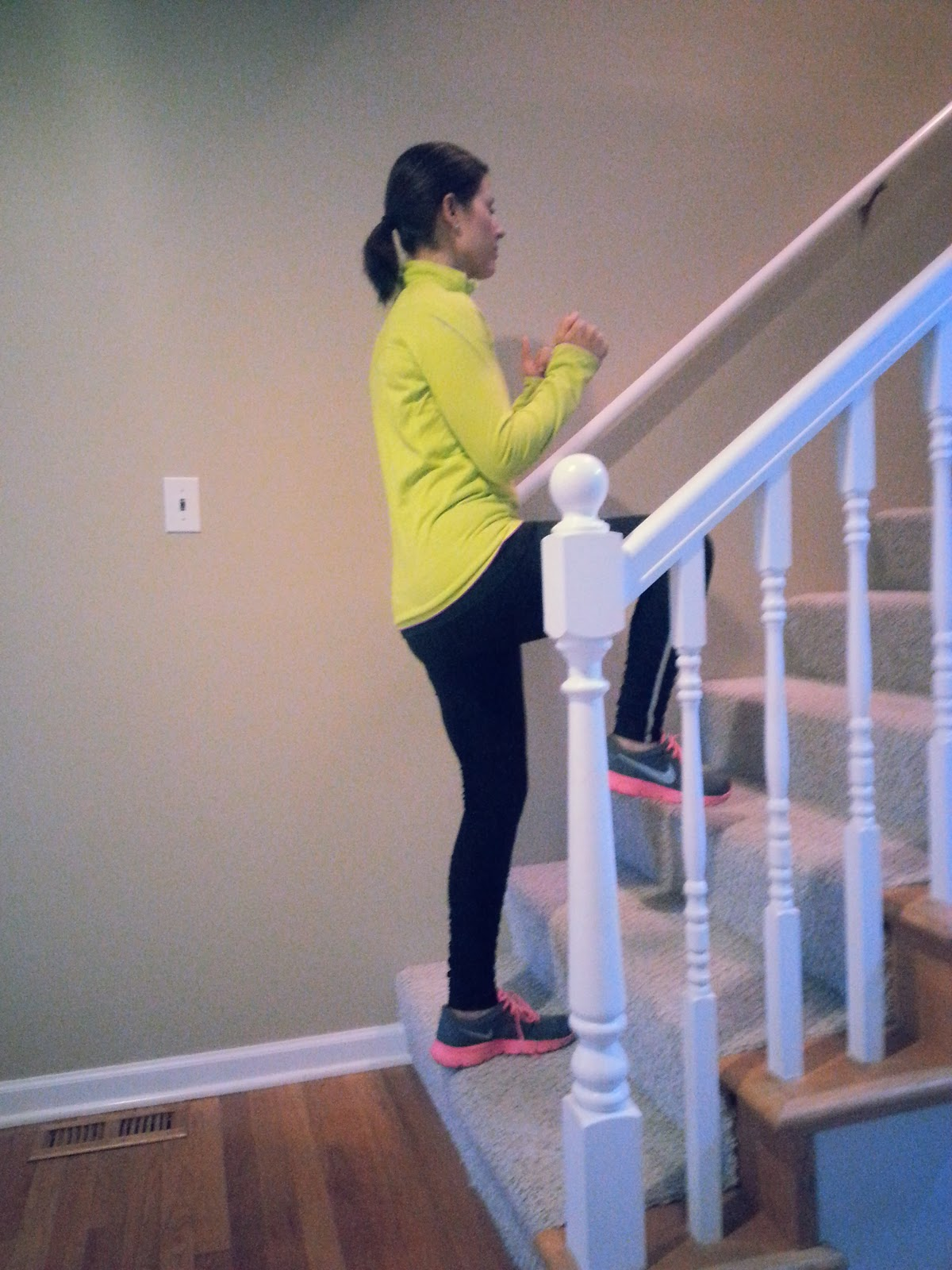 Go Fit Mom Kick Butt Stair Workout