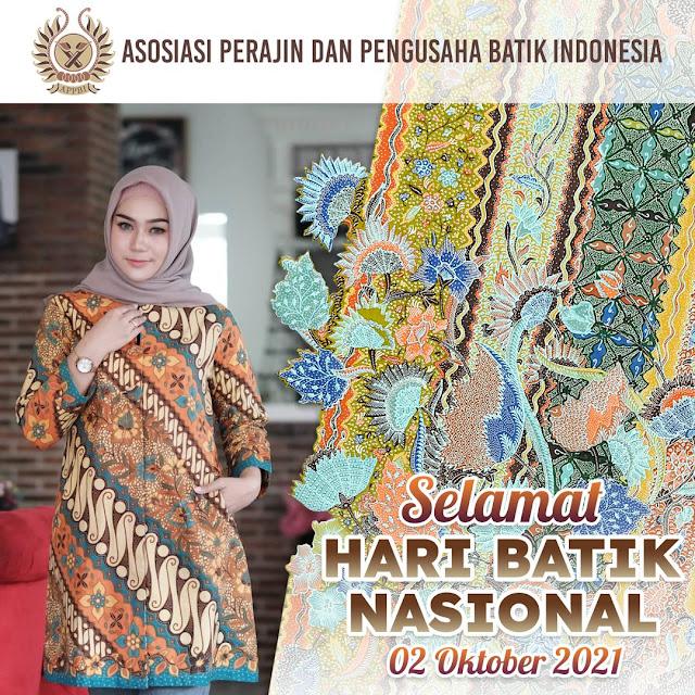 Kumpulan Link Twibbon Hari Batik Nasional 2021