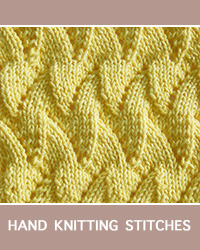 Learn Flame Chevron Lace Pattern with our easy to follow instructions at HandKnittingStitches.com