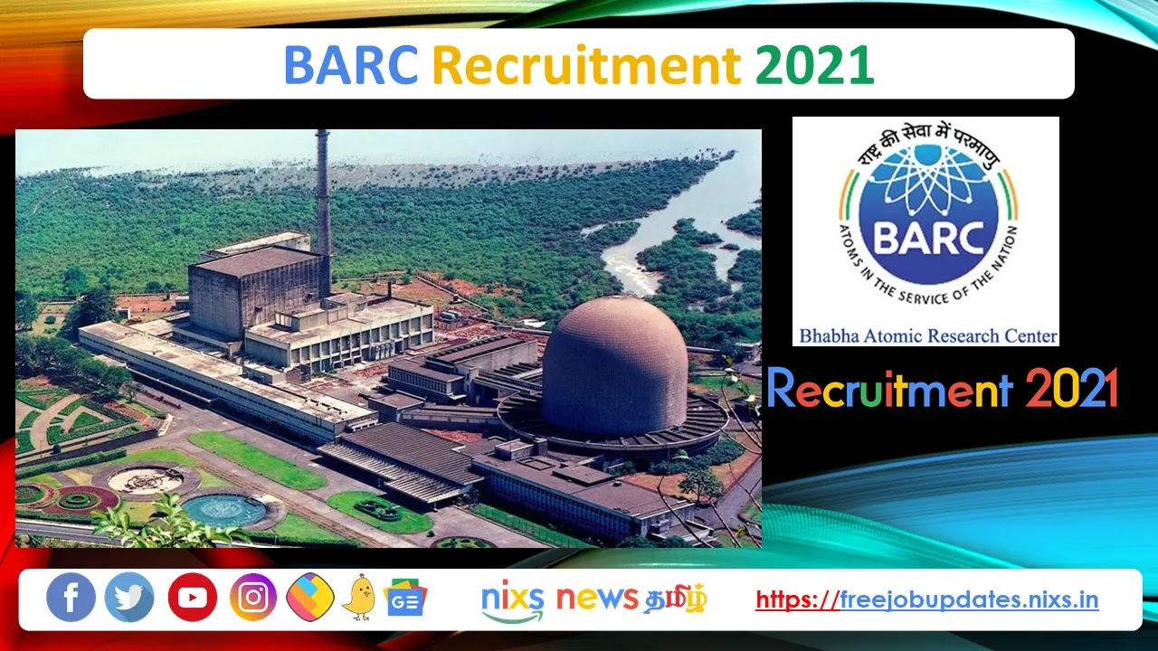 BARC Recruitment 2021 20 Driver-Cum-Pump Operator-Cum-Fireman Posts - Apply Online