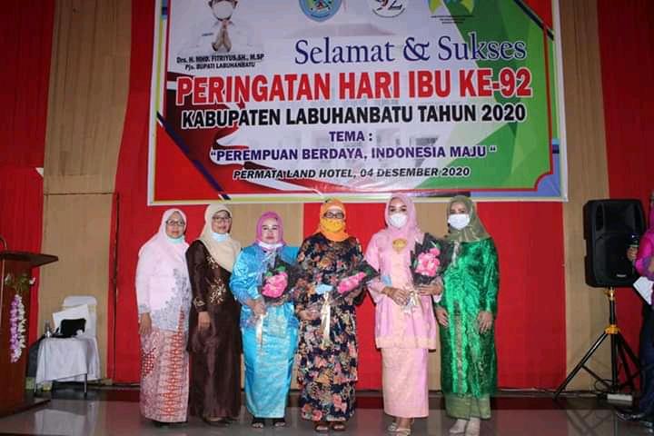"""Peringatan Hari Ibu Ke -92, DPPA Labuhanbatu Usung Thema """"Perempuan Berdaya, Indonesia Maju"""""""