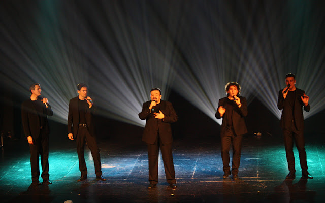 Fiestas del Milagro en Illescas. Actuación grupo Vocal. IMAGEN COMUNICACION ILLESCAS.