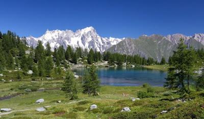 Gite e itinerari di 2 giorni in Valle Aosta - Lago di Arpy Morgex