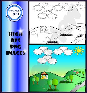 https://www.teacherspayteachers.com/Product/Clip-Art-Background-Hills-2565870