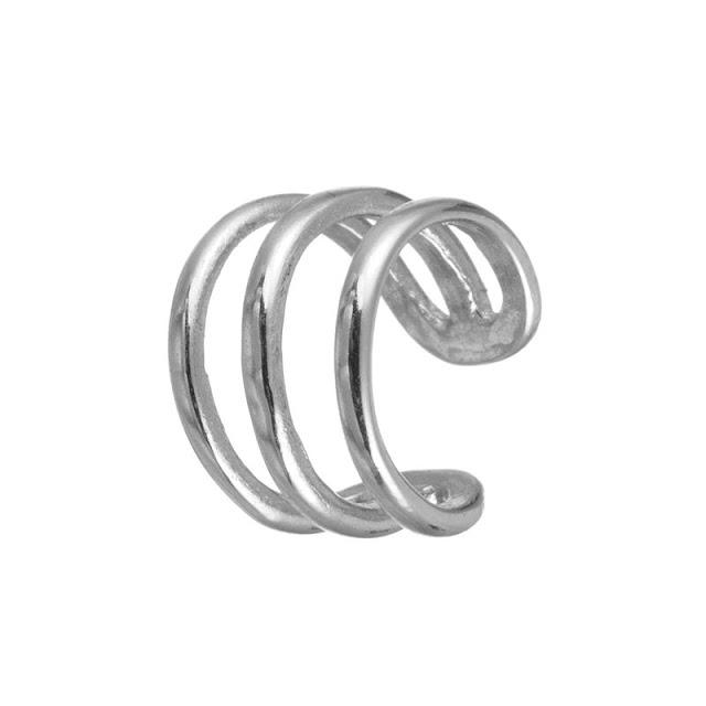 earcuff plata